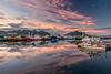 Hofn Harbour reflections
