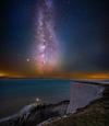 Beachy Head under the Milky Way
