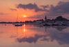 Bosham harbour sunset