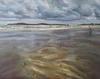 Tenby Beach Scene no 2, Oil on Linen, 2017