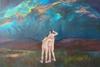 Stargazing (Wanderlust), Oil on Canvas, 2018