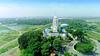 Aerial view of Jagannath Mandir, Ranchi