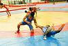 Wrestling indoor practice