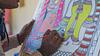Artist Painting Madhubani painting