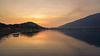 Sunset view of Dimna lake in Jamshedpur