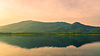Beautiful sunset view of Dimna lake