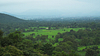 View of Dalma hill located in Jharkhand