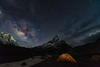 Galactic Centre & Shivling Peak