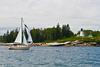 Sailboat & Lighthouse