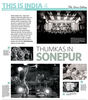 Thumkas in SonepurMFI Awards 2013, Honorary Mention in Photo Essay Category