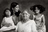 Anuradha Sharma and her daughters, Anokhi and Saba. And Mom Mrs. Mallick.