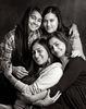 Kalpana Misra and her daughters, Karuna, Danika and Nayantara Parikh.