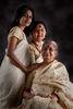 Mishti and her Mom, Neena Bose and grandmother, Mrs. Bhandari.