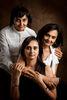 Manika Mookerjee and her sisters, Latika Kumar and Kanika Singh.