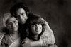 Meenu Handa, with her Mom, Nirmal Narula and daughter, Rhea.