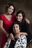 Poonam Mehra, and her daughter, Natasha and Mom.