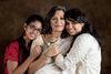 Jyoti Malhotra and her daughters, Tarini and Gayatri.