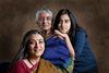 Kavita Sarin, her daughter, Riya and Mom, Rukmani.