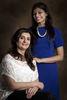 Sherry Kohli Bhatia and her daughter, Sanshe.