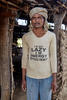 Pahad Singh is  definitely an extremely energetic and innovative farmer. He  doesn't speak English and when I  translated the slogan on his T-shirt he had a hearty laugh as its totally opposite to his actual self.