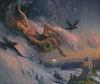 """Moon Bringer, 30"""" x 36"""", oil on canvas"""