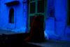 RED IN JODHPUR BLUE