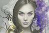 Redd Walitzki Licorice and Lilacs Detail