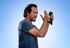 Eddie Vedder of Pearl Jam by Alex Huggan