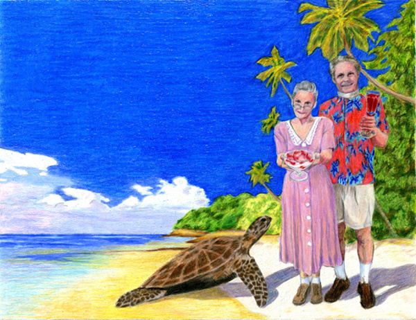 The Reverend and the Sea Turtle