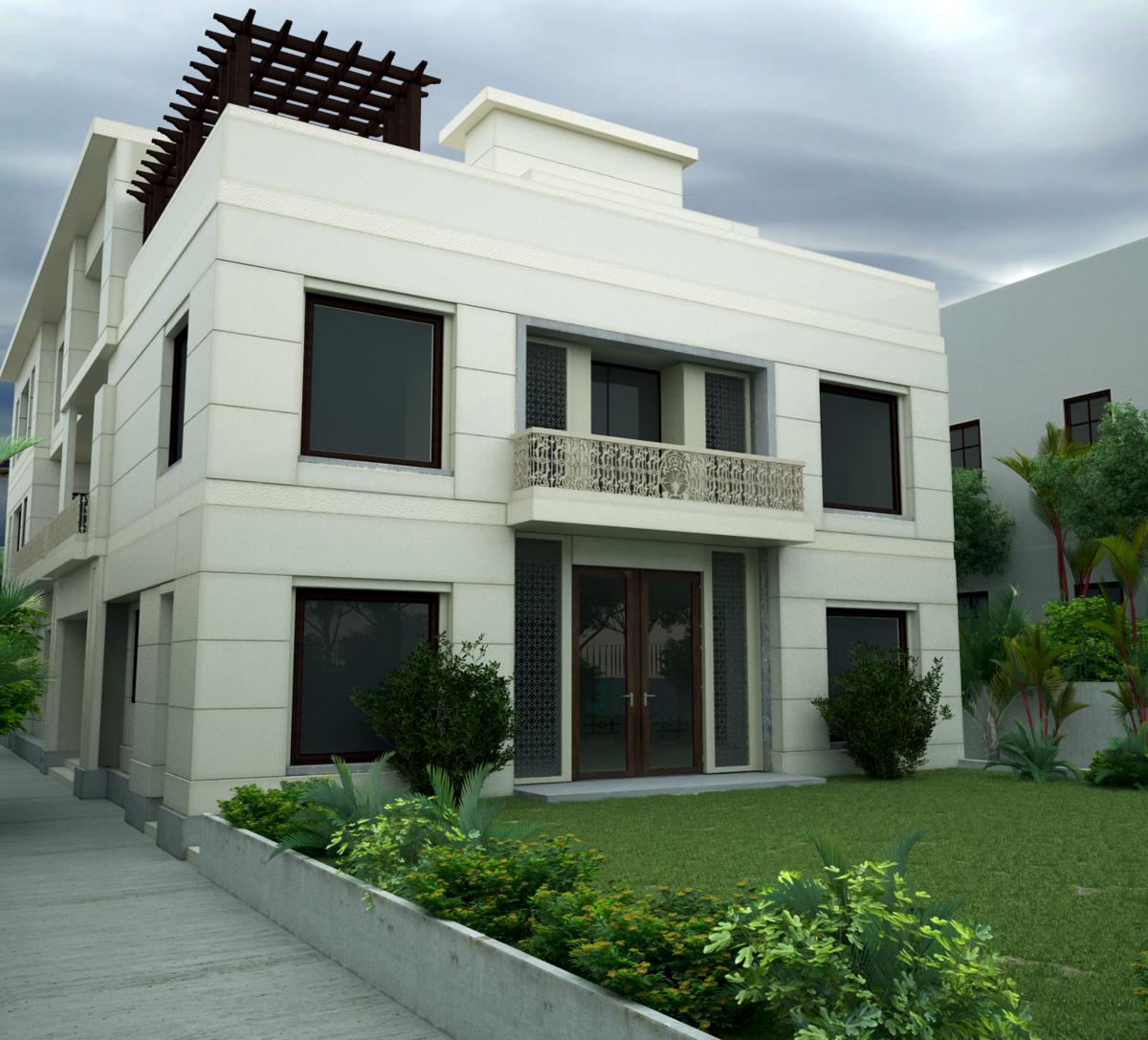 Residence in Shanti Niketan