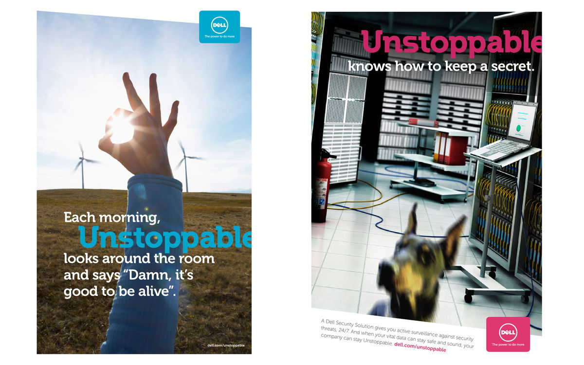 Dell Unstoppable Campaign