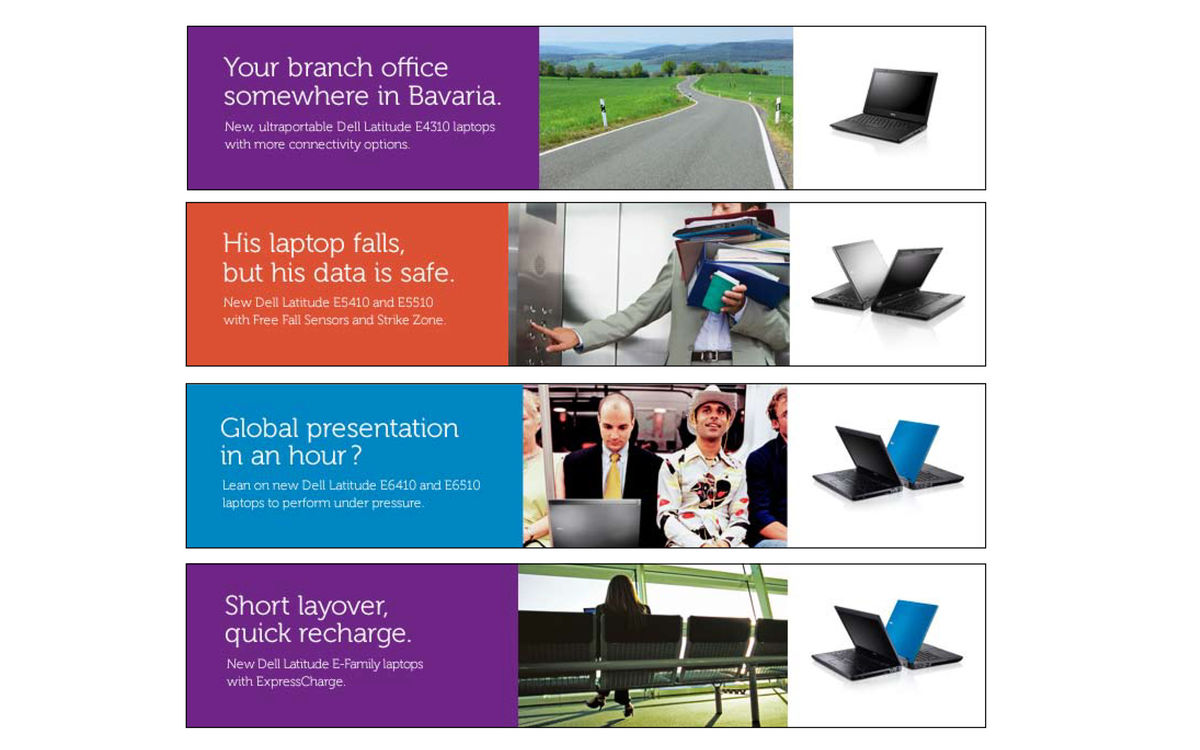 Dell Latitude Static Banners