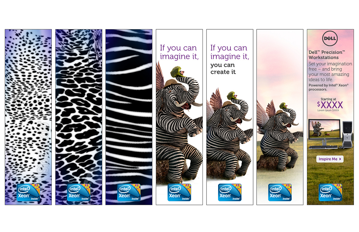 Dell Workstaion Zebrelephant – Animated Banner (tower)