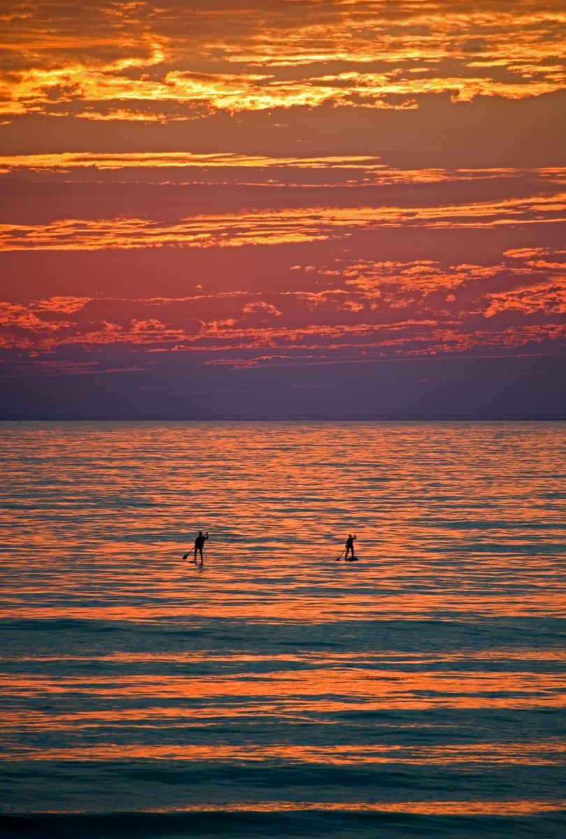 S.U.P.-er Sunset