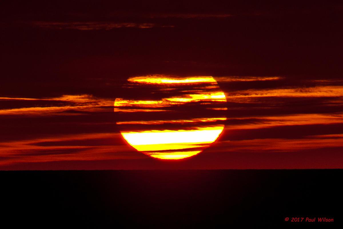 Banded Sunset
