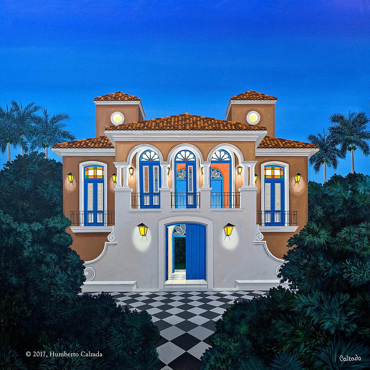 """El Poder de la Nueva Clase (The Power of the New Class) Acrylic on Canvas, 48"""" x 48""""  2017"""