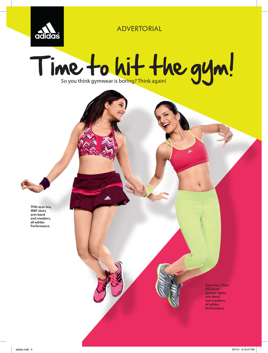 Adidas Advertorial- Cosmopolitan