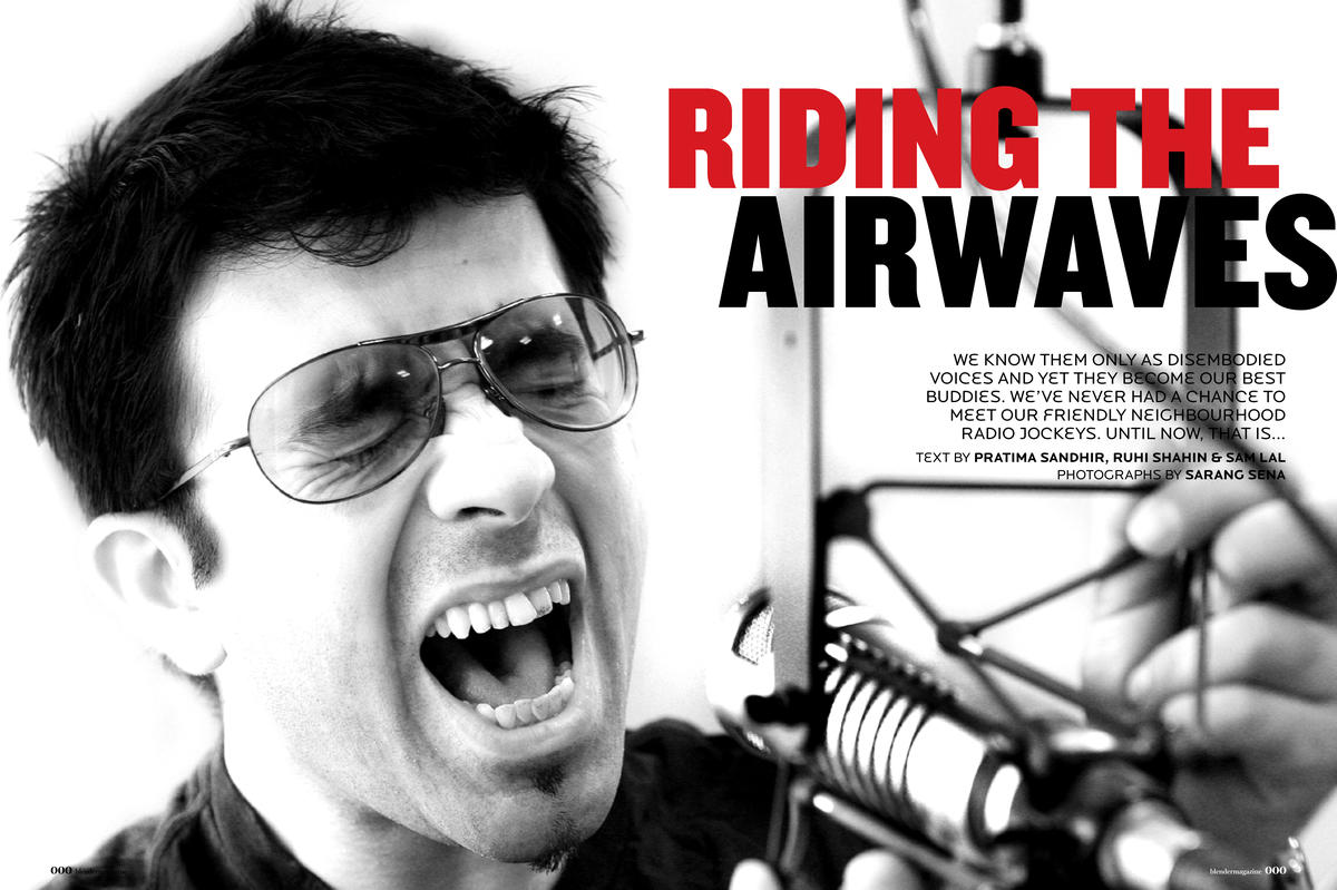 Riding the airways- Blender Magazine