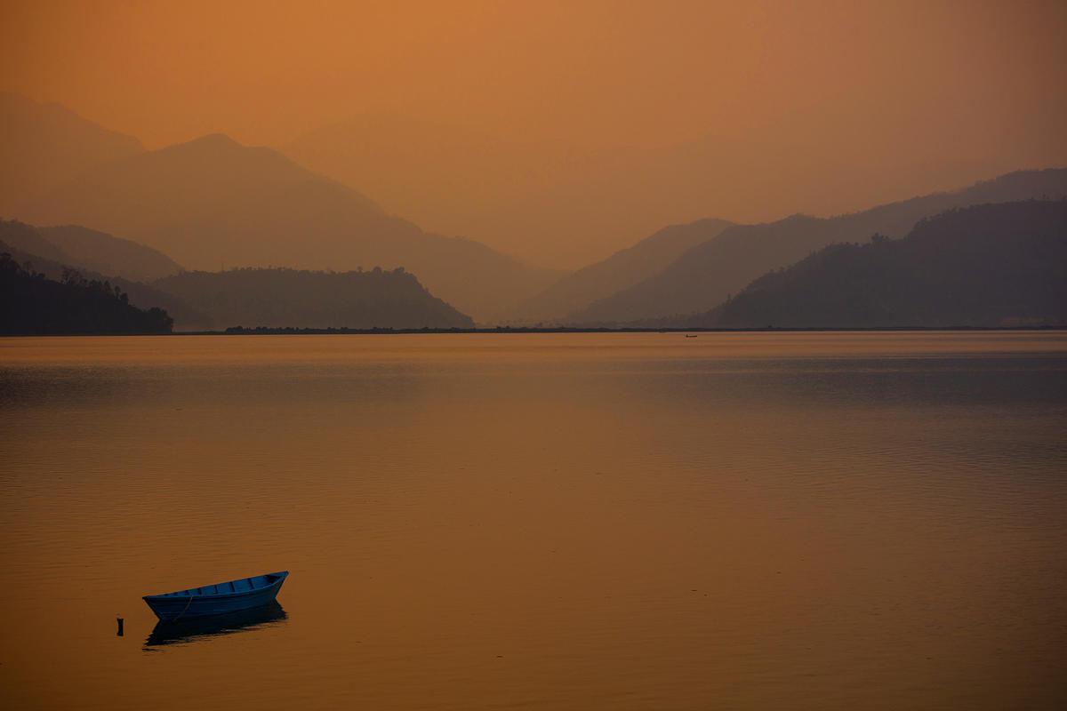 Phewa lake, Pokhra