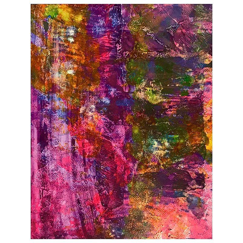 82' - 8 x 11 in - acrylic on wood panel
