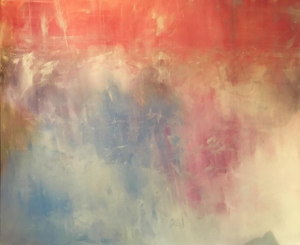 Empyrean - 5' x 6' - acrylic on canvas