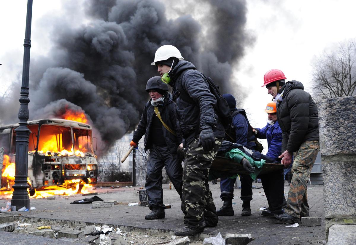 Maidan Square, Kiev, UKRAINE
