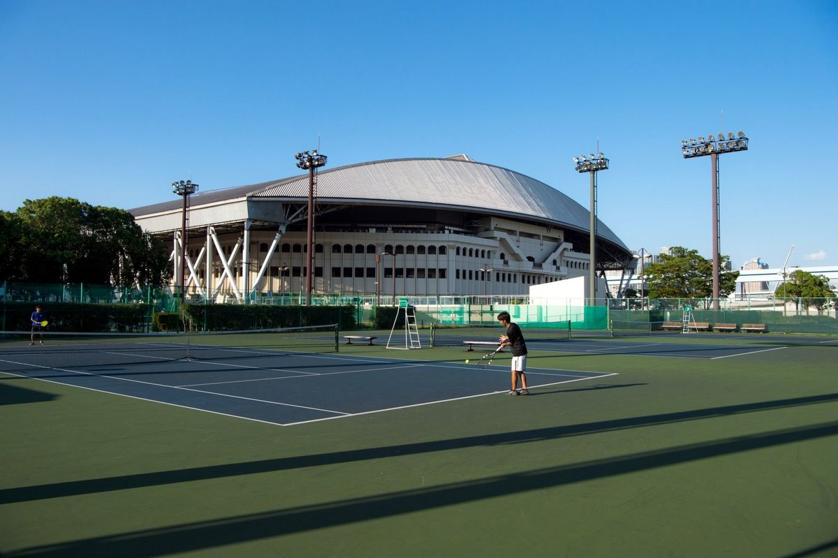 Ariake Tennis Coliseum and Tennis courts