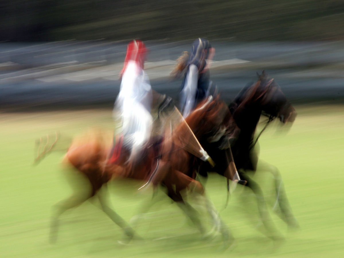 Polo Players, Will Rogers State Park, Los Angeles