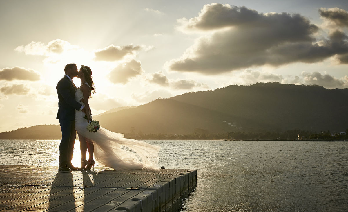 Destination wedding Samui, Thailand