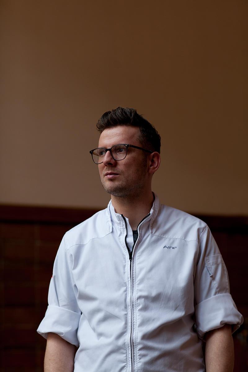 Arne Anker - Head chef at Pauly Saal, Berlin.