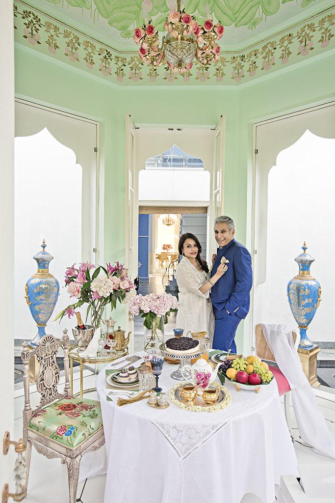 Navin Ansal & Raseel Gujral Ansal