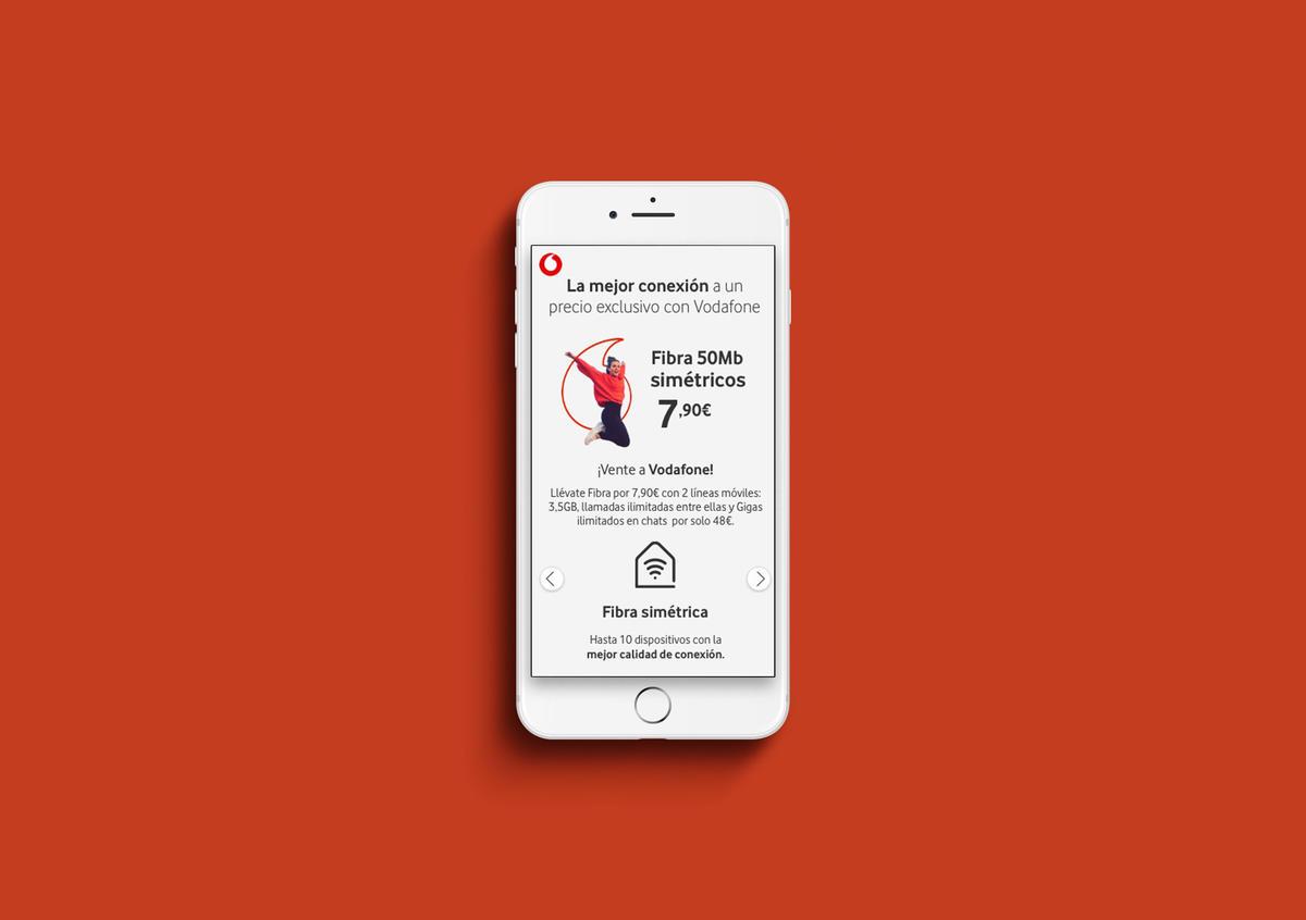 Diseño UI / Vodafone