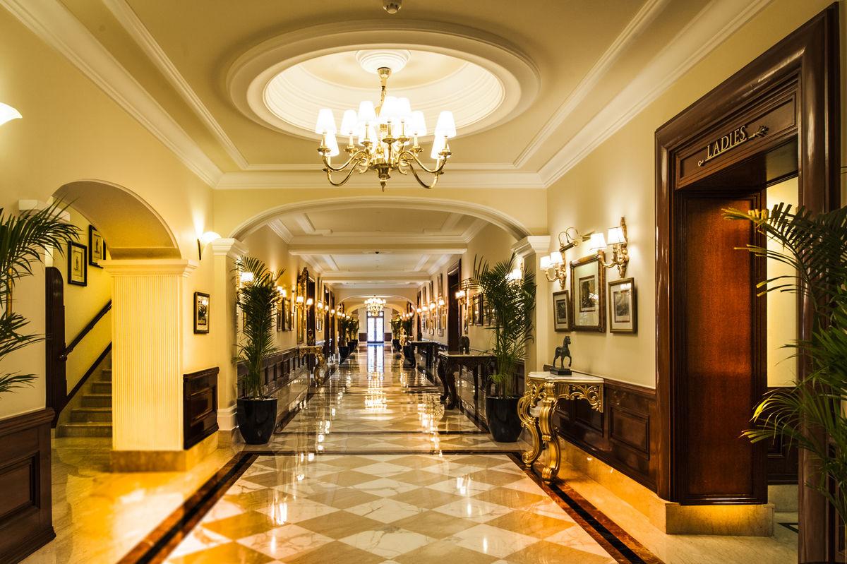 Verandah of Imperial Hotel, New Delhi