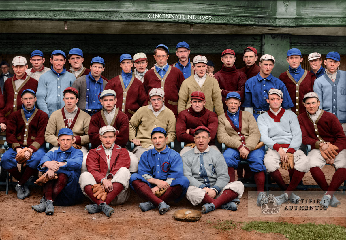 Cincinnati Reds - Spring Training (1909)